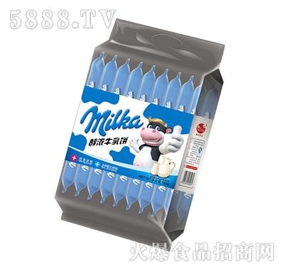 格尔食品milka醇浓牛乳饼180g