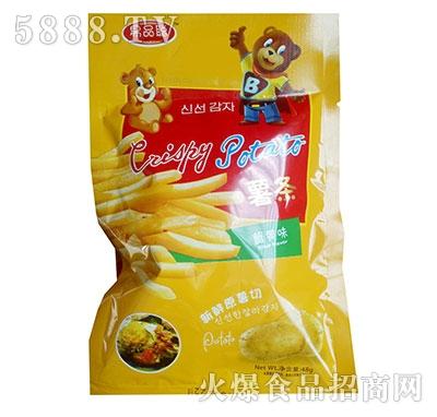 果品聪蟹黄味薯条