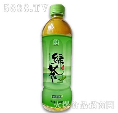 乐牛绿茶调味茶饮料500ml