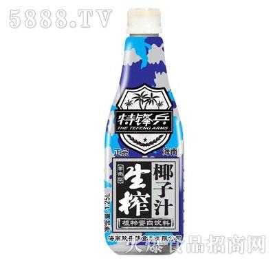 1.25L特锋兵生榨椰子汁产品图