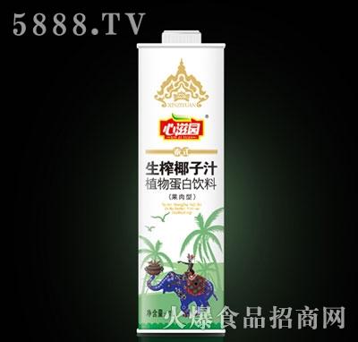 1L心滋园泰式生榨椰子汁产品图