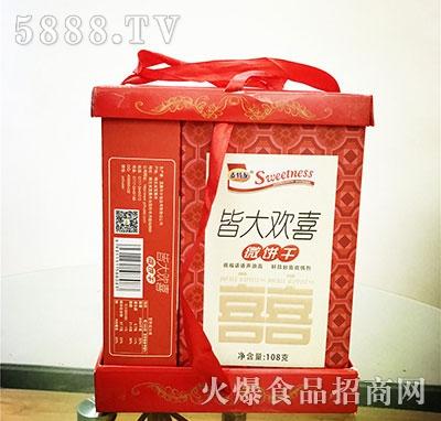 麦特龙组合礼盒装喜庆年货礼盒饼干厂