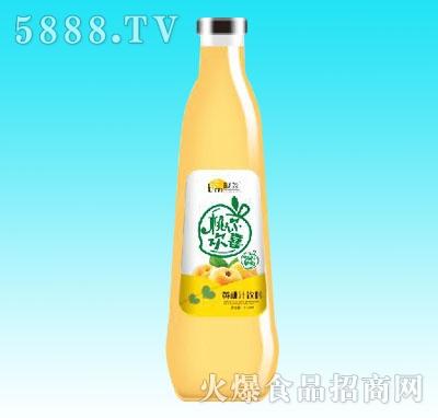 靓淼黄桃汁饮料838ml