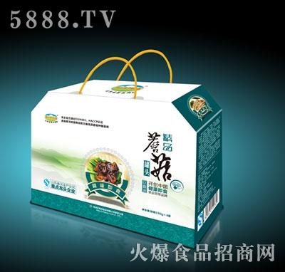 康爱蘑菇罐头礼盒