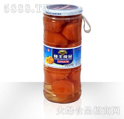 隆丰750g甜杏罐头