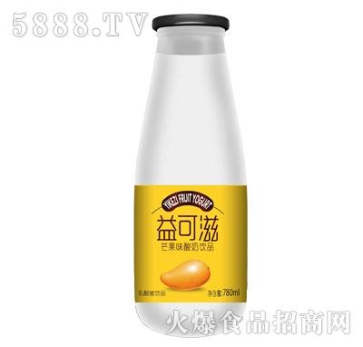 益可滋芒果味酸牛奶780ml