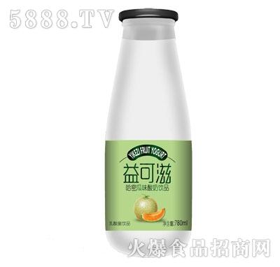 益可滋哈密瓜味酸牛奶780ml