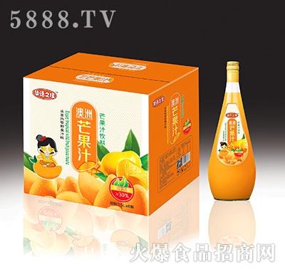 华语之佳芒果汁饮料1.5Lx6瓶