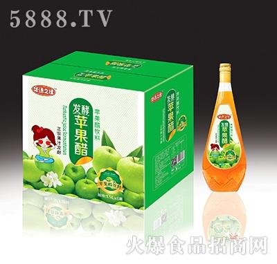 华语之佳发酵苹果醋饮料1.5Lx6瓶