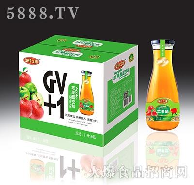 华语之佳GV+1苹果醋饮料Lx6瓶