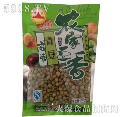 峰达农家豆香青豆128g产品图