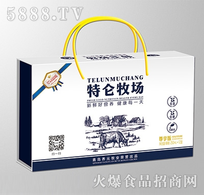 特伦牧场风味饮品250mlx12盒
