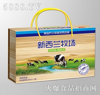 新西兰牧场风味饮品250mlx12盒