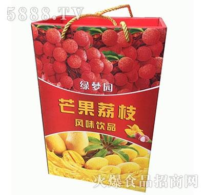 绿梦园芒果荔枝风味饮品
