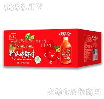 六禾野山楂树山楂汁380mlx15瓶