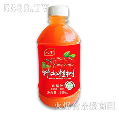 六禾野山楂树山楂汁380ml