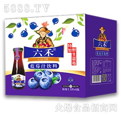 六禾蓝莓汁饮料1.5Lx6瓶