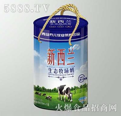 新西兰生态牧场奶250mlx12盒