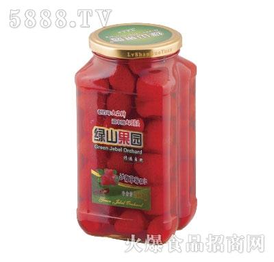绿山果园冰糖草莓罐头860g