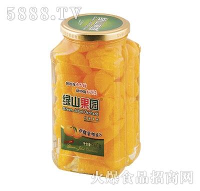 绿山果园冰糖蜜桔罐头860g
