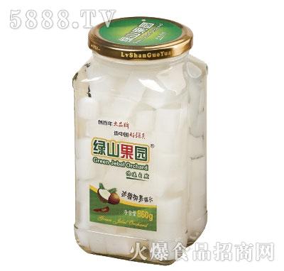 绿山果园冰糖椰果罐头860g