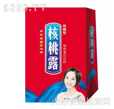 核桃露植物蛋白饮料(礼盒)