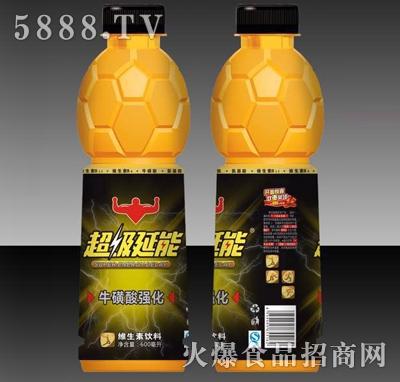 超级延能牛磺酸强化维生素饮料600ml