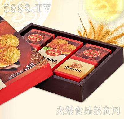 咀香园莲蓉枣蓉红豆沙480克