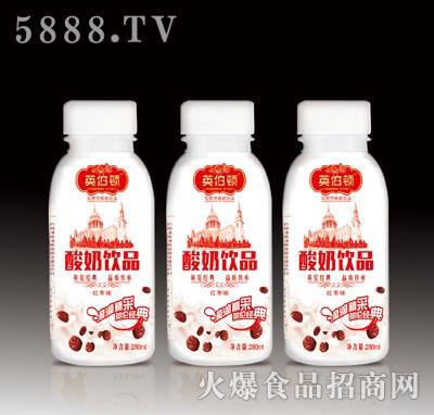280ml英伯顿酸奶饮品(红枣味)产品图