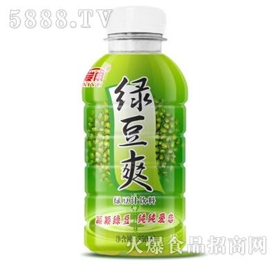 爱雨绿豆爽果汁饮料350ml
