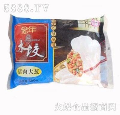 维志猪肉大葱水饺500克