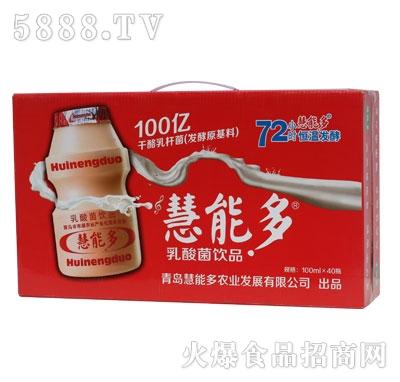 慧能多乳酸菌100mlx40瓶