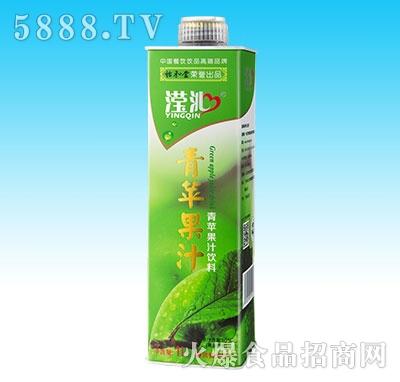 1L滢沁青苹果汁(10瓶装)