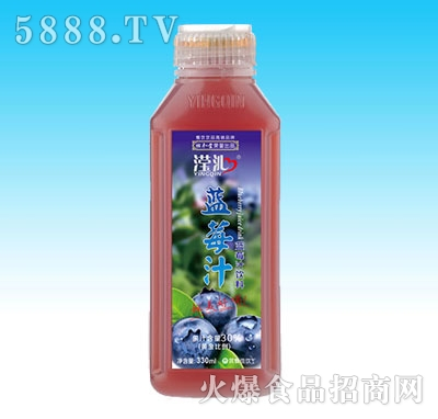 330ml滢沁蓝莓汁