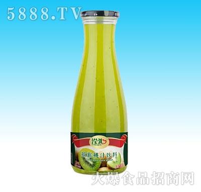 滢沁玻璃瓶1L猕猴桃