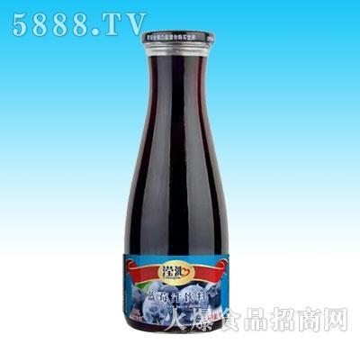 滢沁玻璃瓶1L蓝莓汁