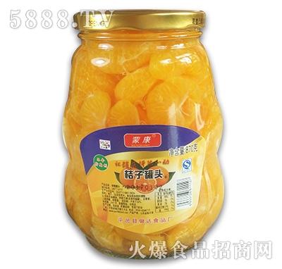 蒙康桔子罐头870g