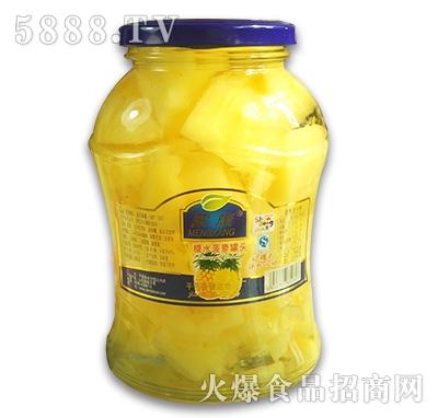 蒙康糖水菠萝罐头768g