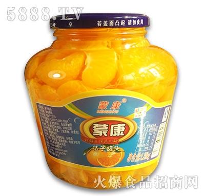 蒙康桔子罐头1.25kg