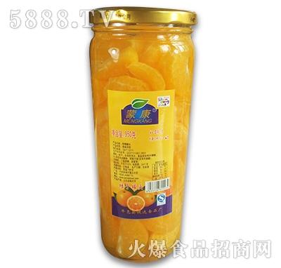 蒙康桔子罐头950g