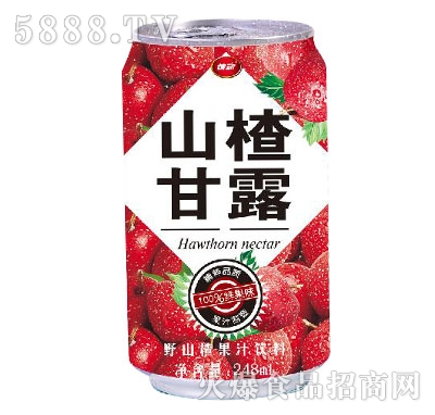 情动山楂甘露248ml