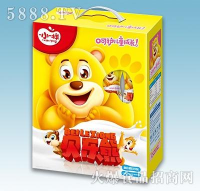 -小-样贝乐熊复合但阿比饮品礼盒(黄)