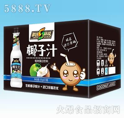 极速挑战椰子汁330gx15瓶