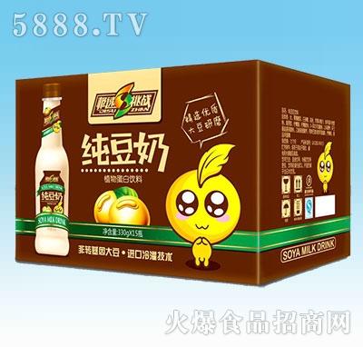 极速挑战纯豆奶330gx15瓶