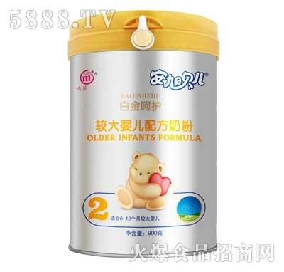 安旭贝尔较大婴儿配方奶粉2段(罐装)产品图