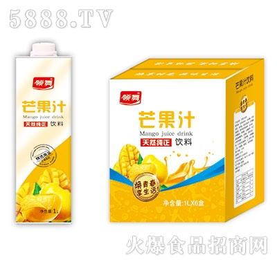 领舞芒果汁1Lx6盒