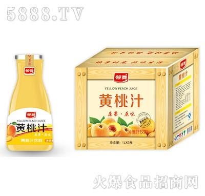 领舞黄桃汁1Lx6瓶