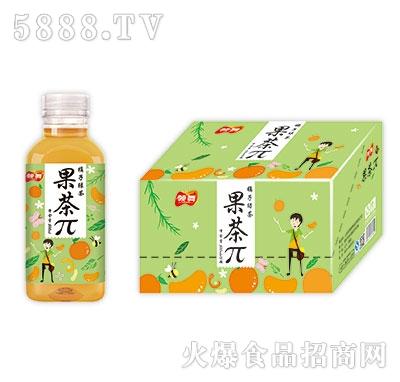 领舞果茶π橘子绿茶