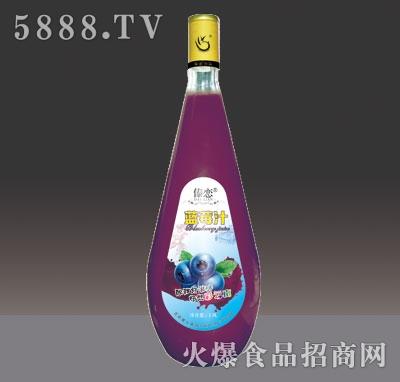1.5L傣恋蓝莓汁