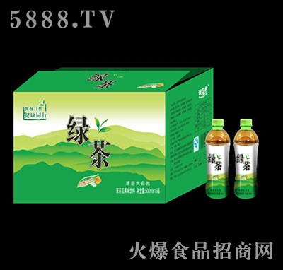 绿茶饮料500mlx15瓶